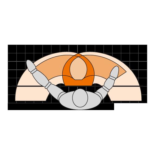 Abbildung: Greifraum